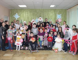 Новогоднее чудо Северо Осетинский центр по реабилитации детей инвалидов Феникс 1