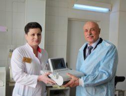 Заместитель глав врача Ирина Караева и главный инженер Казбек Зангиев
