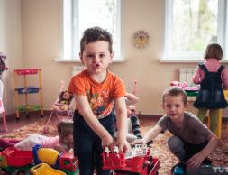 детский сад дети