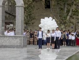 Южная Осетия Беслан акция памяти
