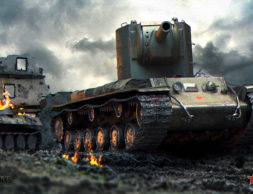 World_of_Tanks_Tanks_KV-2_Russian_515547_2560x1440
