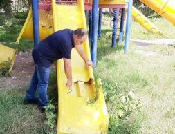 РСО-Алания,Беслан, площадка в школе 2 (4)