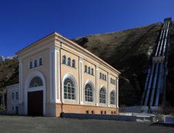 Здание Эзминской ГЭС