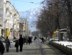 Владикавказ - Проспект Мира - Перспектива 2